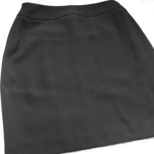 Dress black skirt ALFANI petite  size 8P.